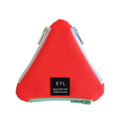 EYL triangle coin purse Neon Orange