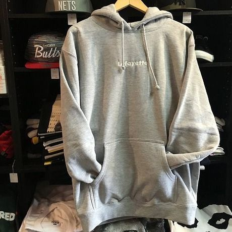 Lafayette SMALL LOGO PULLOVER HEATHER GRAY