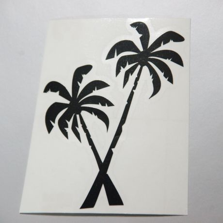 Palm Tree Cutting Sticker