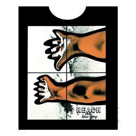 Gilbert and George  (REACH) Tシャツ/ ブラック