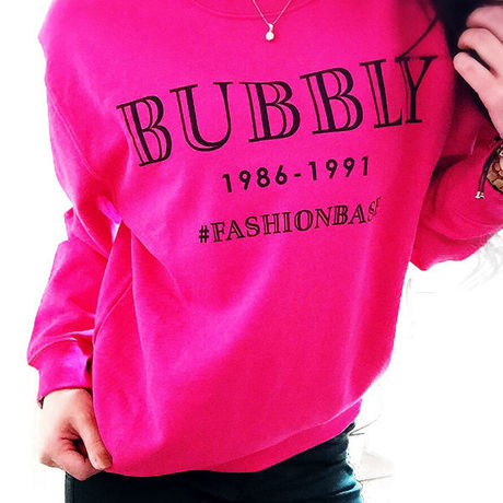 LADIES' BUBBLY Tropical Pink Sweat
