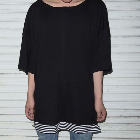 `UNDER ` Oversized T-shirts 【2color】