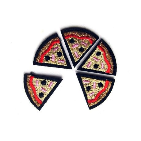 """""""PIZZA"""" PATCHES CARD ワッペン"""