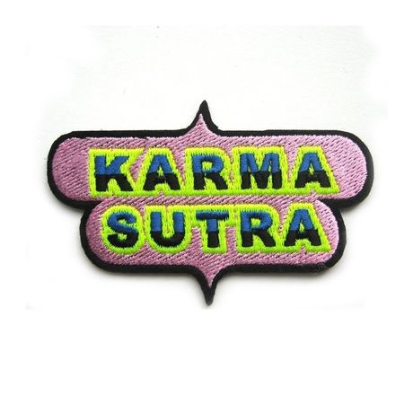 """""""KARMA SUTRA"""" REPAIR PATCH ワッペン"""