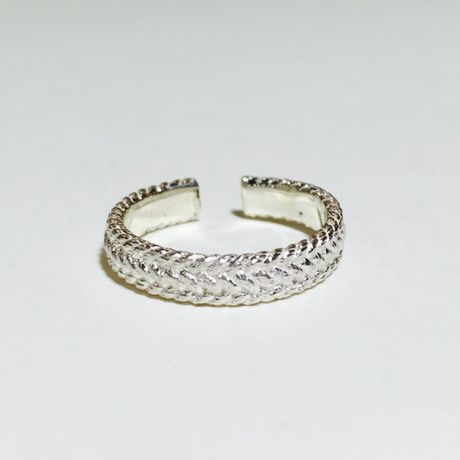 braid free ring (M)(silver)