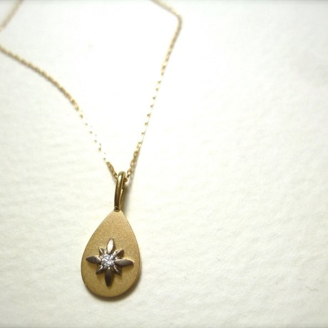 K18 necklace  #shooting star