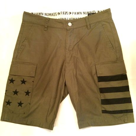 PAWN NOMADS STAR SHORTS 7102 ショーツ