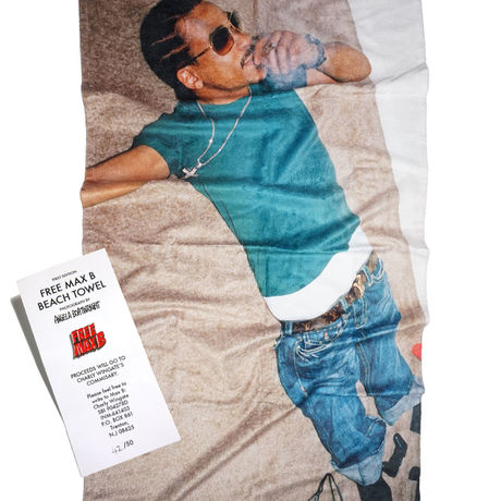 BOOTLEG IS BETTER MAX B BEACH TOWEL