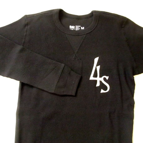 THERMAL SHIRTS(Set-in sleeve) BLACK