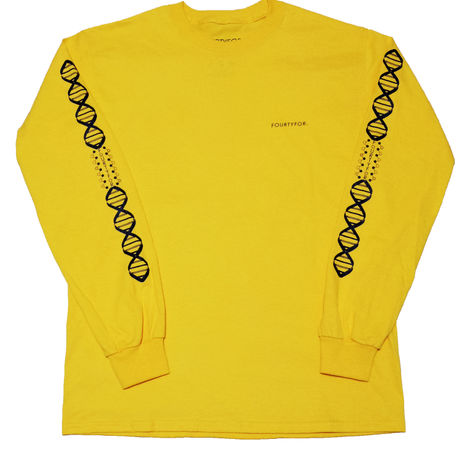 DNA L/S Tee Gold
