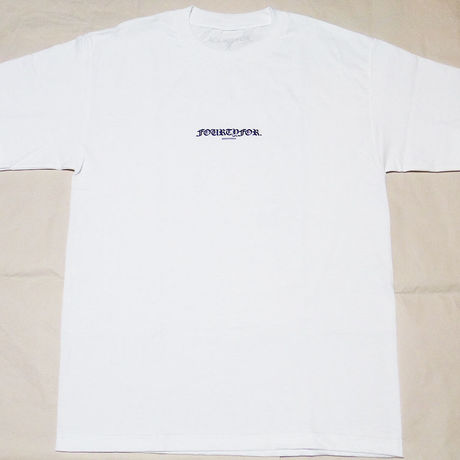 OE LOGO TEE White/Navy  ''Summer Weight''