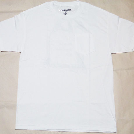 Cemetery Pocket Tee White