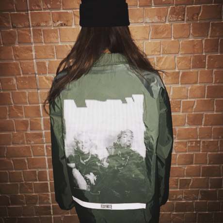 Phenom Coach jacket / DarkGreen