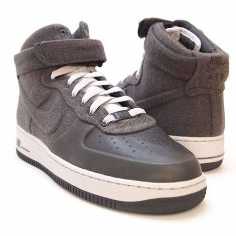 NIKE AIR FORCE 1 HIGH VT PRM gry