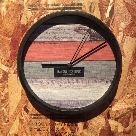 "Wall Clock ""Shabby"""