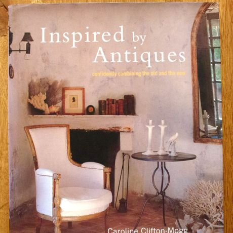 【洋書】Inspired by Antiques : CAROLINE CLIFTON-MOGG