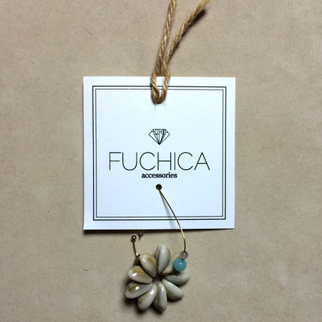 Shell flower earring(FU-0004)