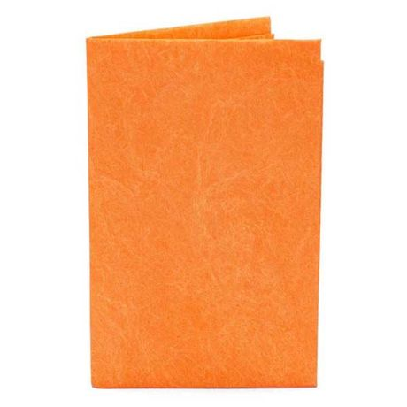 paperwallet-Solid Card Holder-ORANGE-SCH002ORA