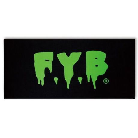 FYB Logo - bath towel