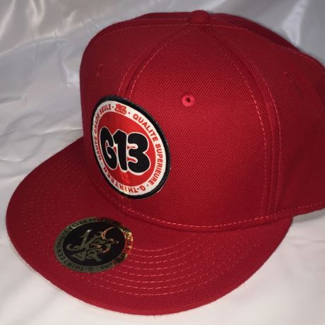 G13 ORIGINAL PATCH SNAP BACK RED