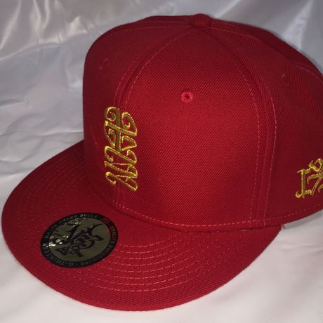 G13 ORIGINAL SNAP BACK JUSO十三 RED/GOLD
