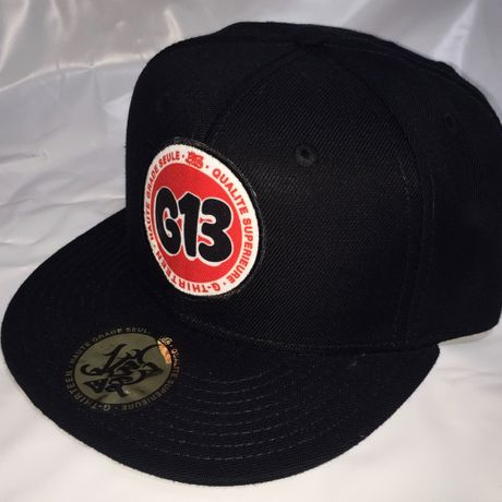 G13 ORIGINAL PATCH SNAP BACK  BLACK