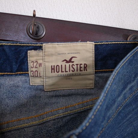 HOLLISTER Jeans W32xL30 USED加工 ストレートレッグ
