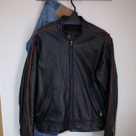 Harley‐Davidson Leather single riders Lサイズ相当