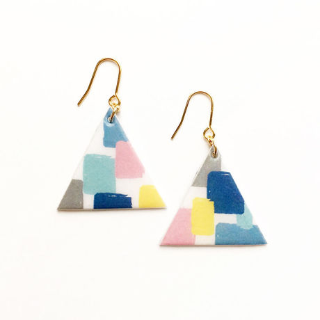 △Colorful Designピアス(MS)