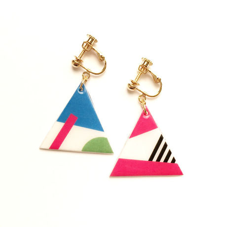 △Colorful Designイヤリング(GMT)