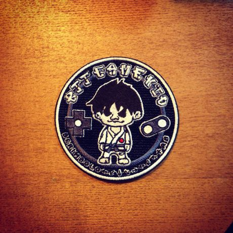 BJJ GAME KID PATCH