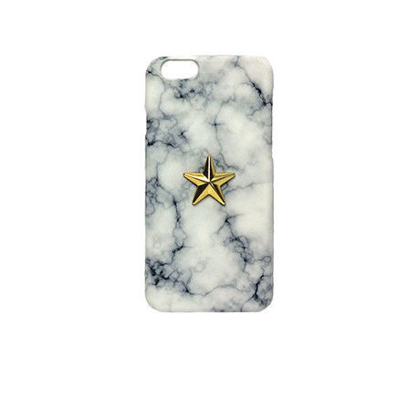 5.5inch GJALLARHORN ギャラルホルン iPhone ケース Marble stone textureWith ONESTAR  ARABESCART MARBLE×GOLD