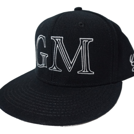 Logo-Snap Back Cap Black