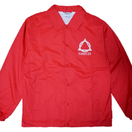 Logo-Coach Jacket Red