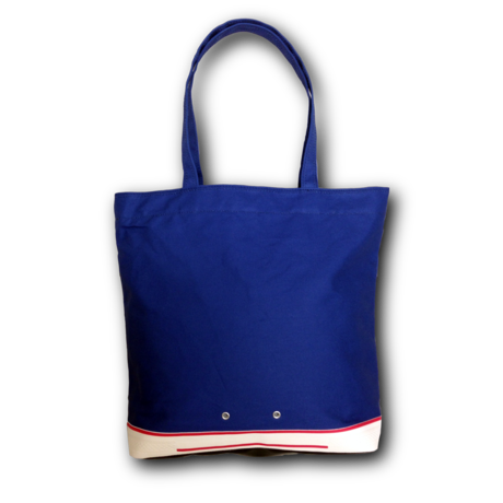 """"""" FOOTLOOSE TOTE """" color: BLUE"""