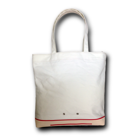 """"""" FOOTLOOSE TOTE """" color: WHITE"""