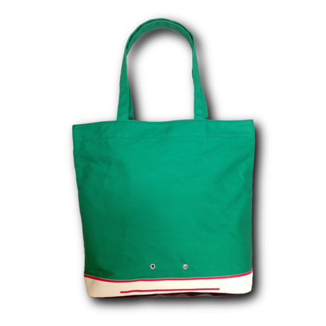 """"""" FOOTLOOSE TOTE """" color: GREEN"""