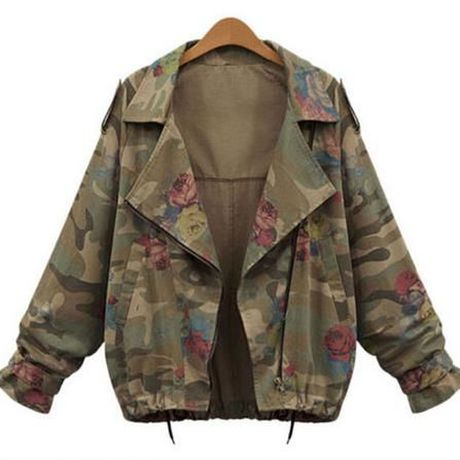 Woman's slim military jacket