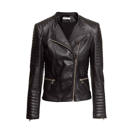 Women's cool leather jacket