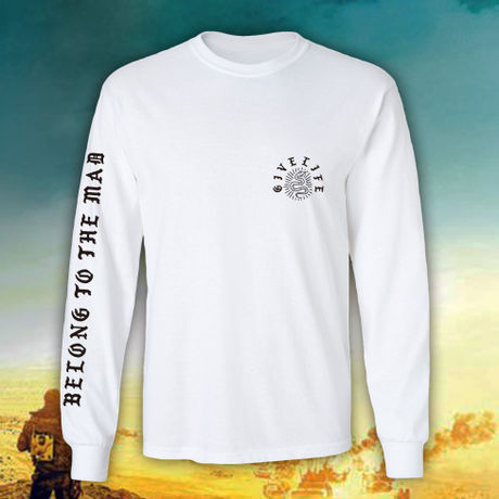 """Give Life """"Mad Longsleeve T-shirt"""" White"""