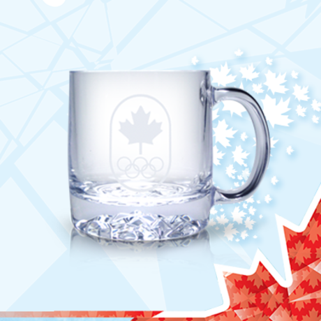 Sochi Olympic glass