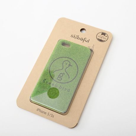 greenbird iphone5/5sケース collaborate with shibaful