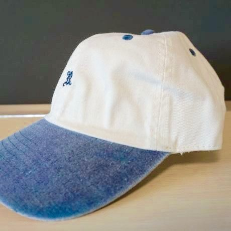 """RUGGED """"OLD R"""" adjuster cap(navy × white)"""