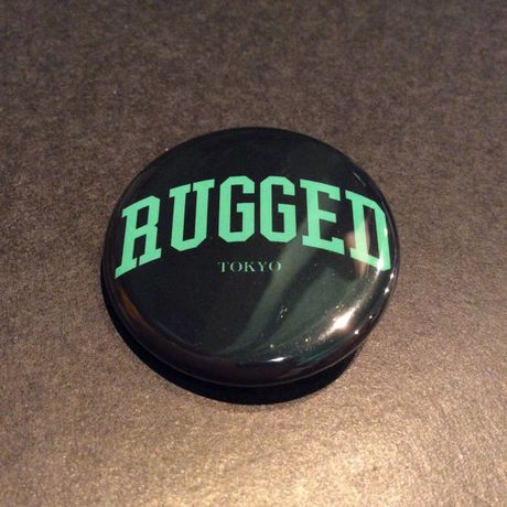 """RUGGED ''Arch logo"""" button badge"""