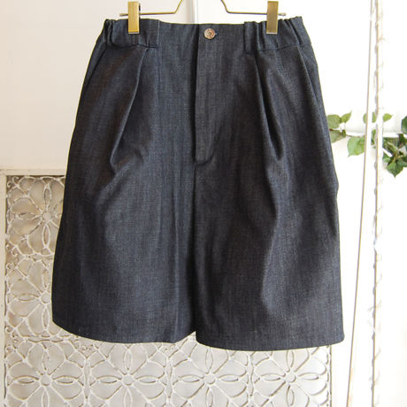 SHIROMA 16S/S chase the unknown denim culotte