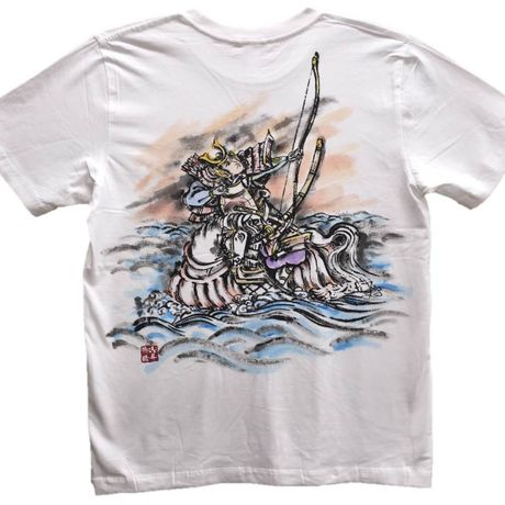 T-shirts men Nasu no Yoichi color Japanese Art