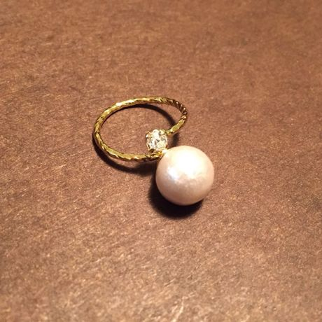 cotton pearl  Ring  1