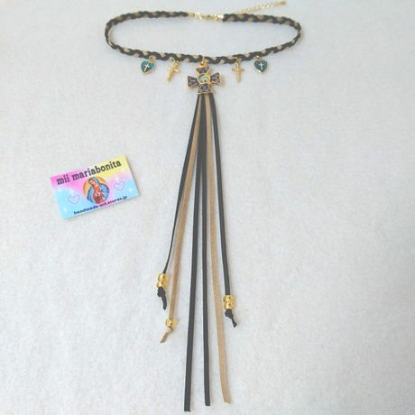 my lovely tail Choker☆blackbeige