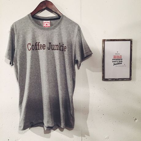 Coffee Junkie T Shirt(Mサイズ)