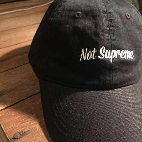N.S.P Black Denim Cap.